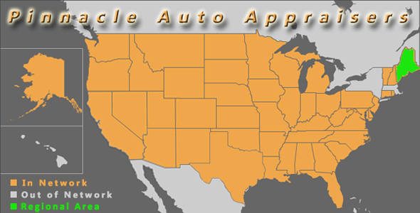 map maine pinnacle auto appraiser appraisal dimished value inspection